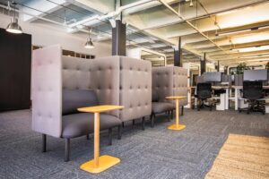 workspace in a commercial property